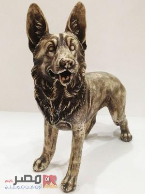تمثال كلب