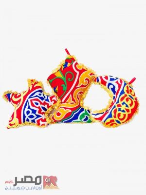 اشكال لتعليق زينة مكونه من 3 اشكال هلال , فانوس ,نجمة رمضان - صغير