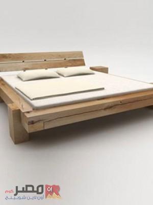 سرير خشب